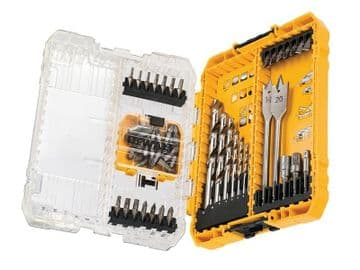 DT70757 Mixed Drill & Bit Set, 55 Piece